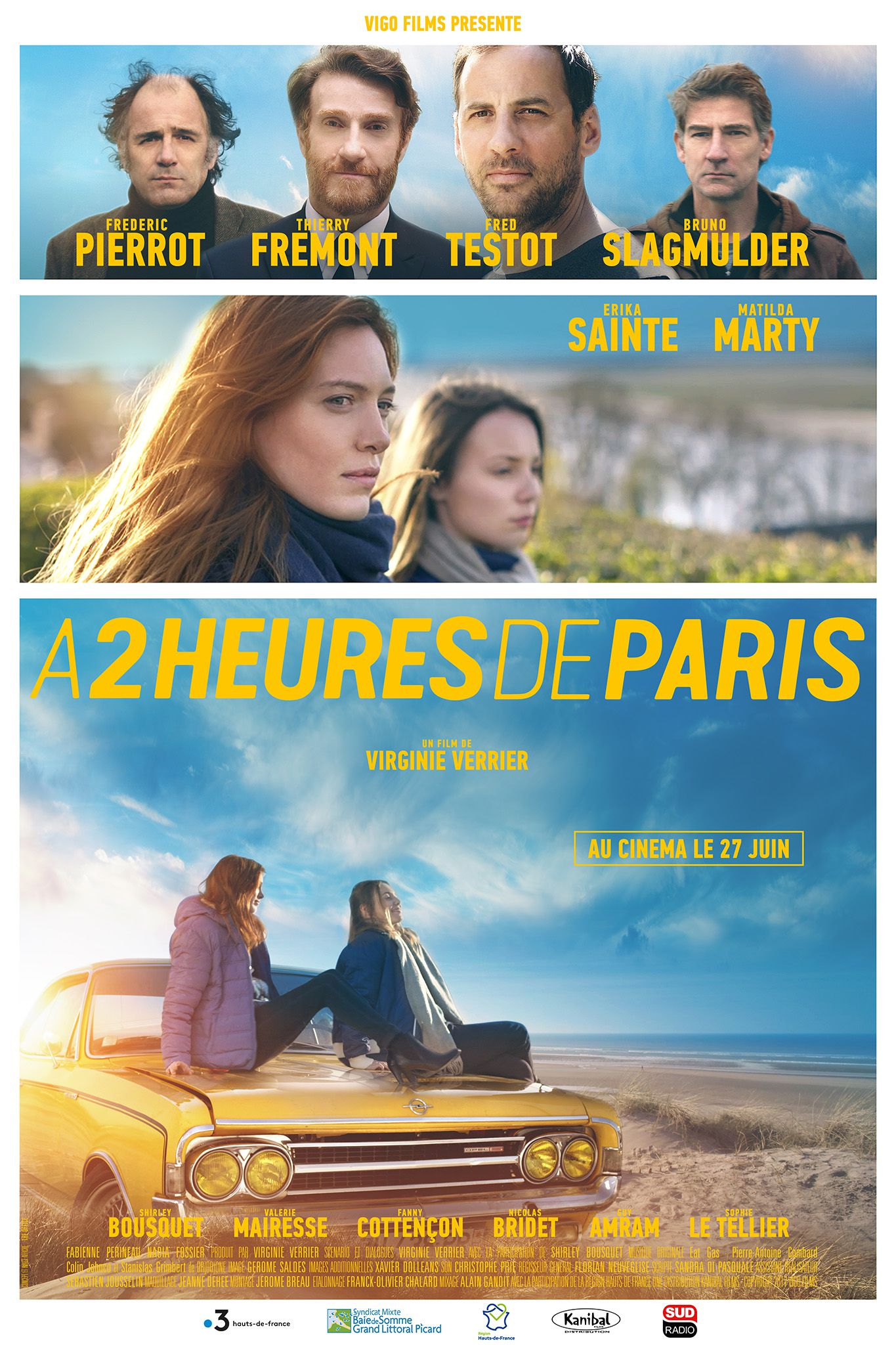 À 2 heures de Paris - Film (2018)