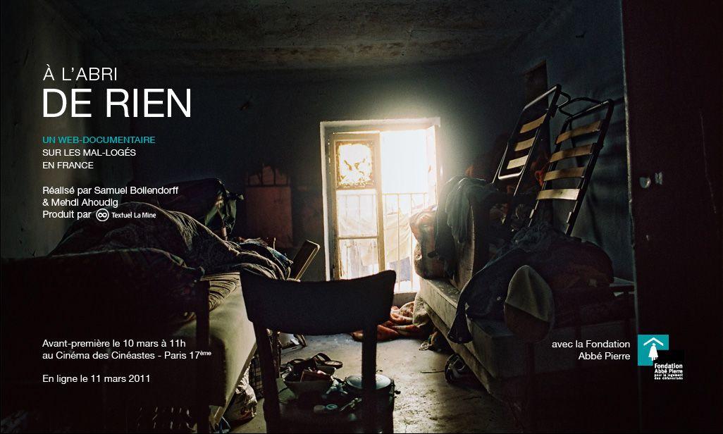 À l'abri de rien - Documentaire (2011)