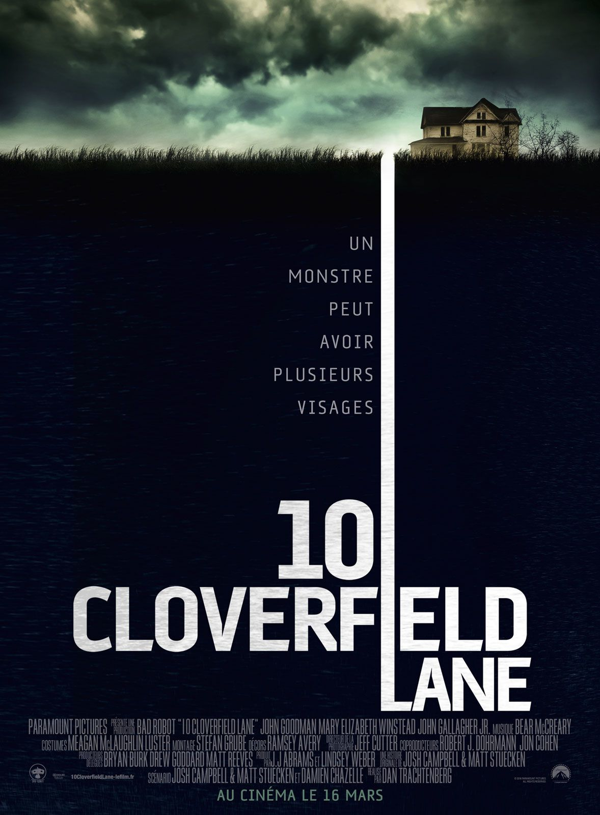 10 Cloverfield Lane - Film (2016)