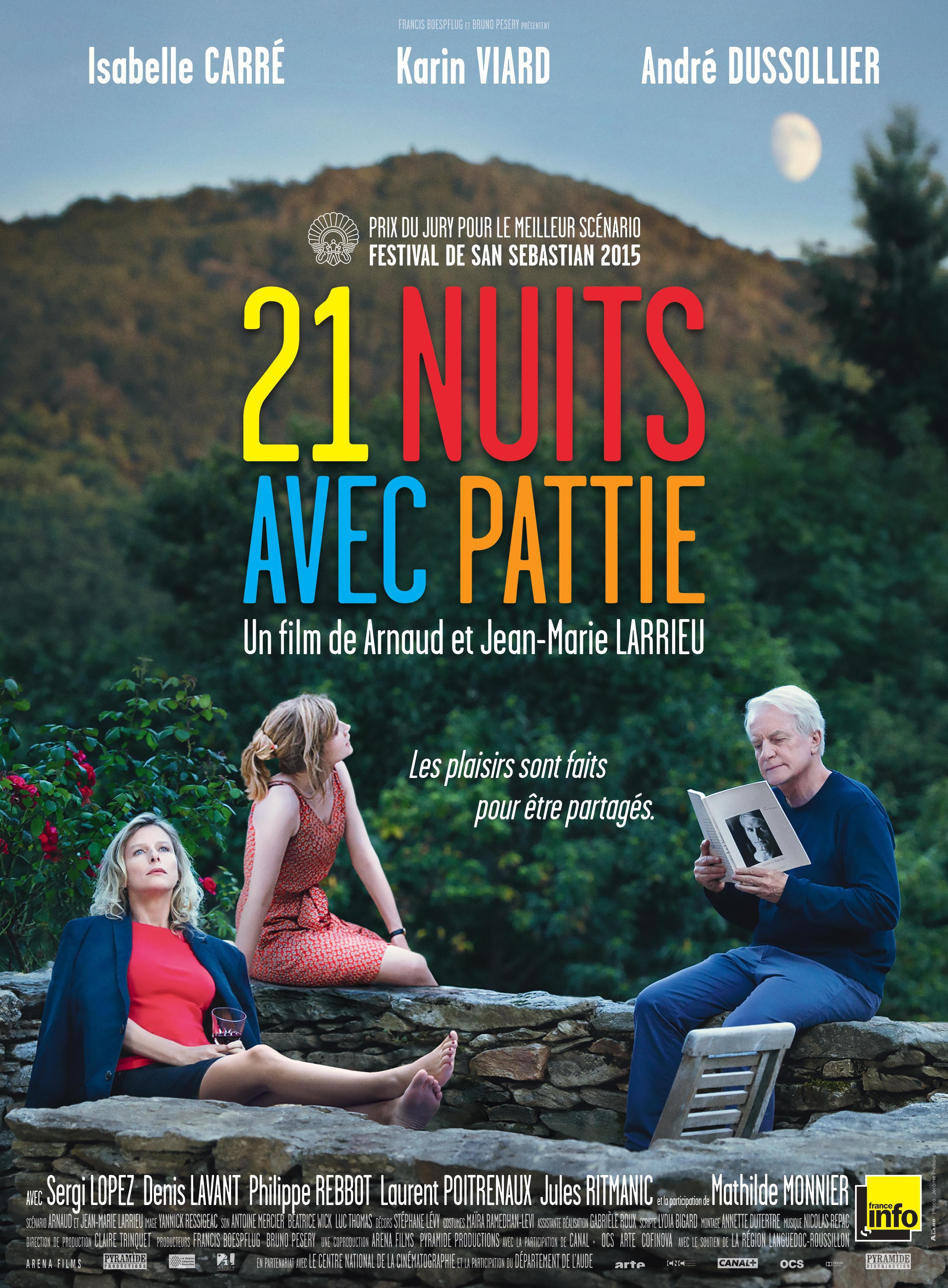 21 nuits avec Pattie - Film (2015)