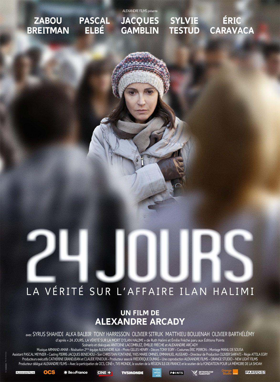 24 jours, la vérité sur l'affaire Ilan Halimi - Film (2014)