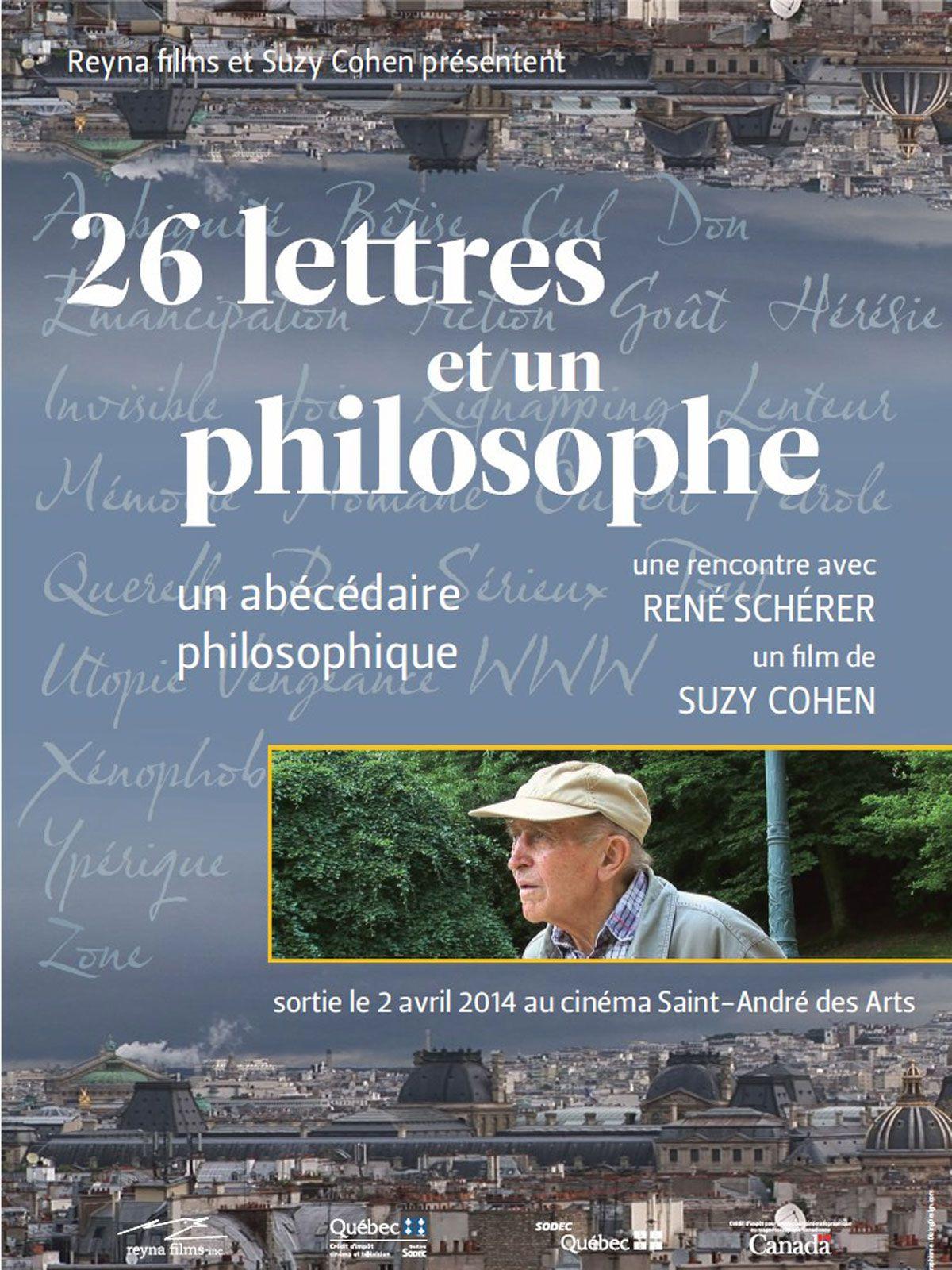 26 lettres et un philosophe - Documentaire (2012)