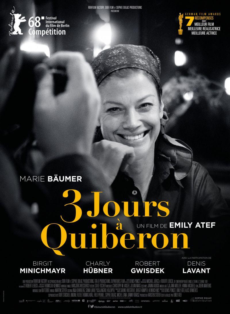 3 jours à Quiberon - Film (2018)