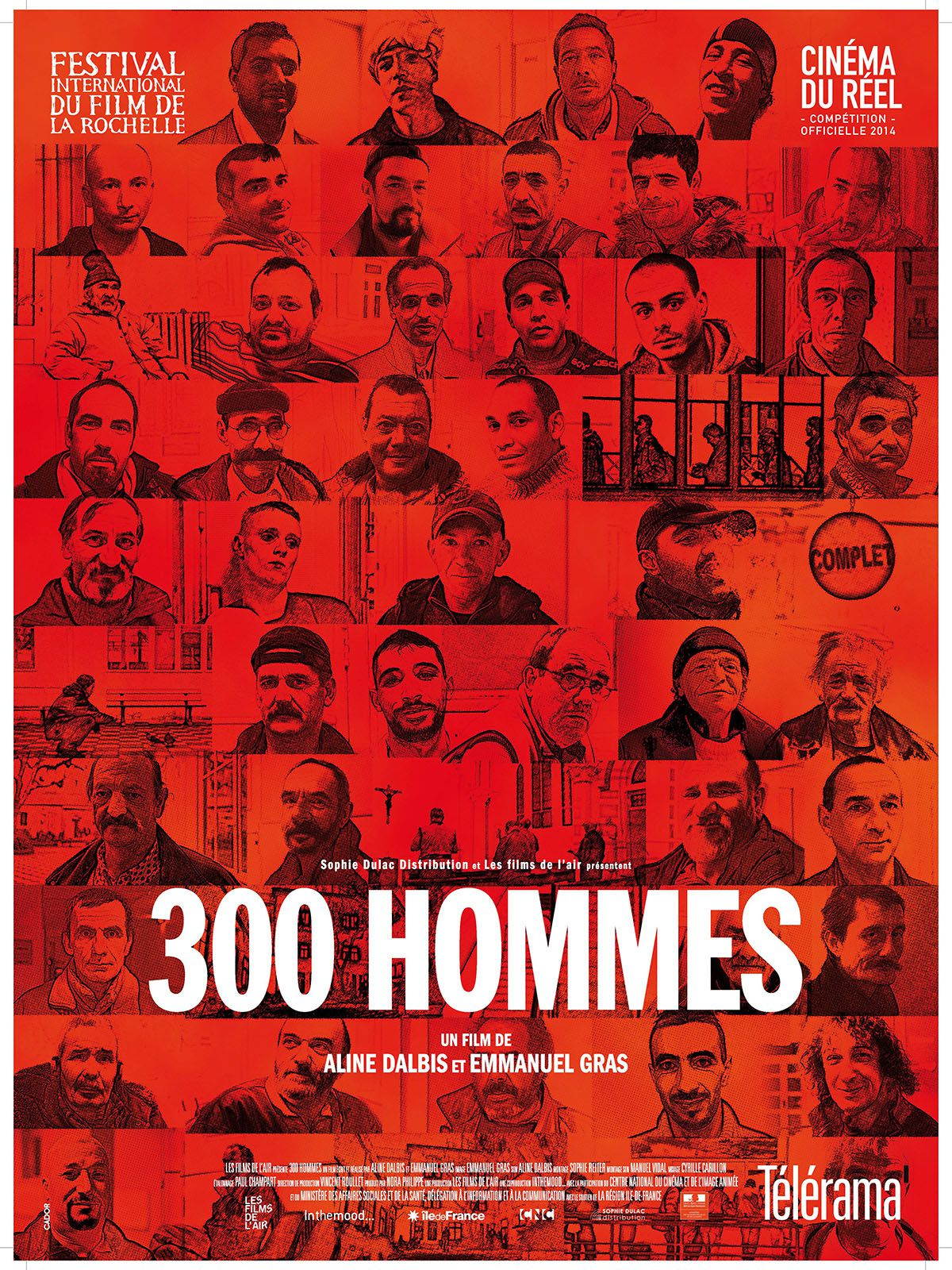 300 hommes - Documentaire (2015)