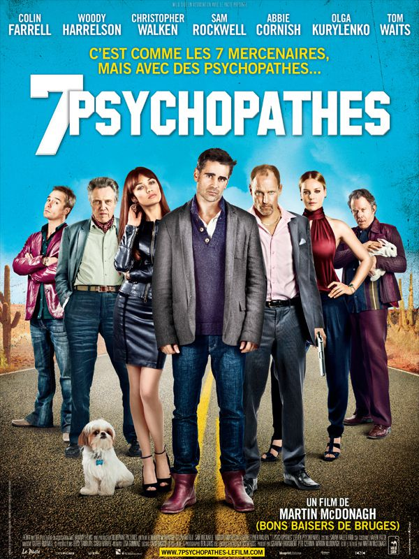 7 Psychopathes - Film (2012)