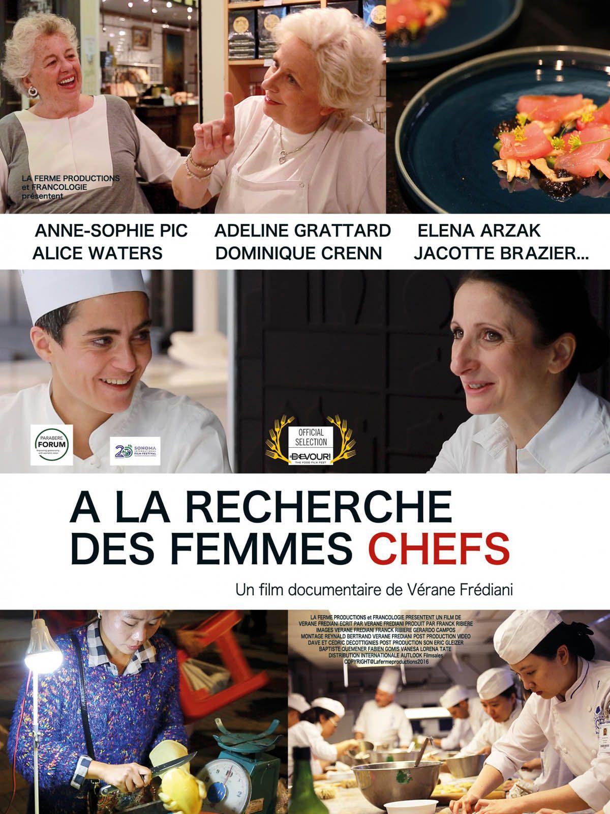 A la recherche des femmes chefs - Documentaire (2017)