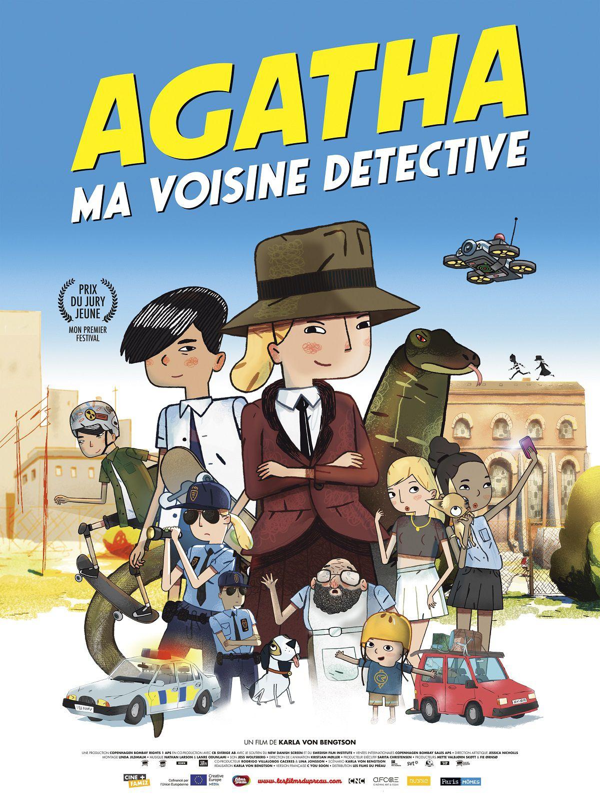 Agatha, ma voisine détective - Film (2018)