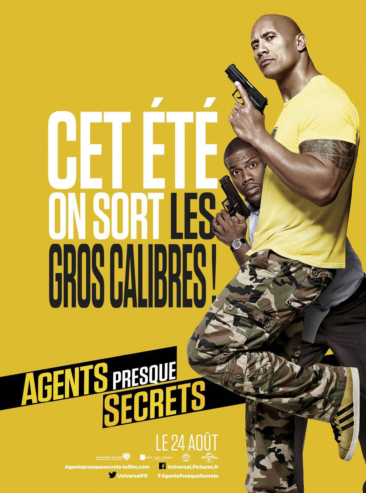 Agents presque secrets - Film (2016)