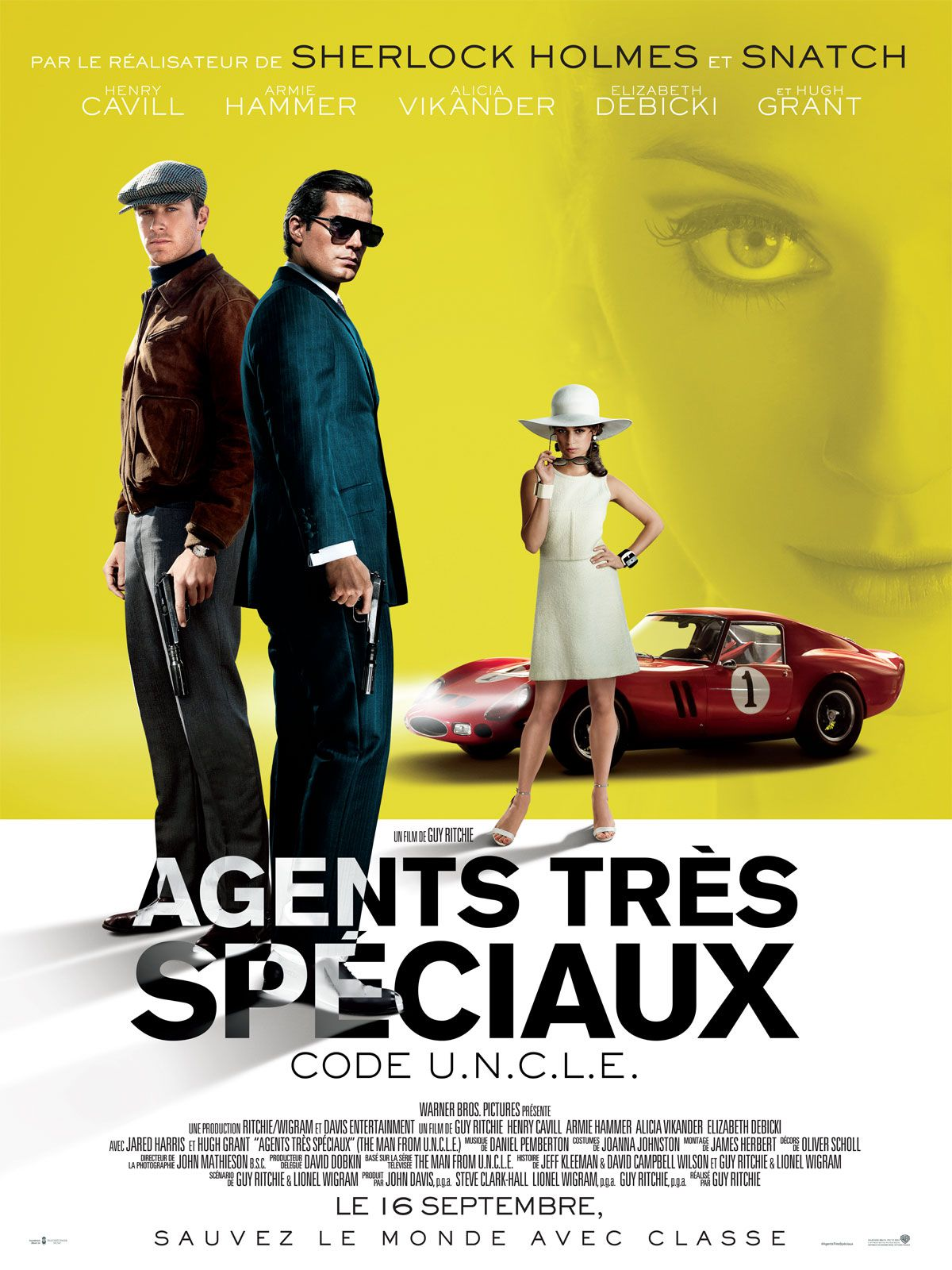 Agents très spéciaux - Code U.N.C.L.E. - Film (2015)