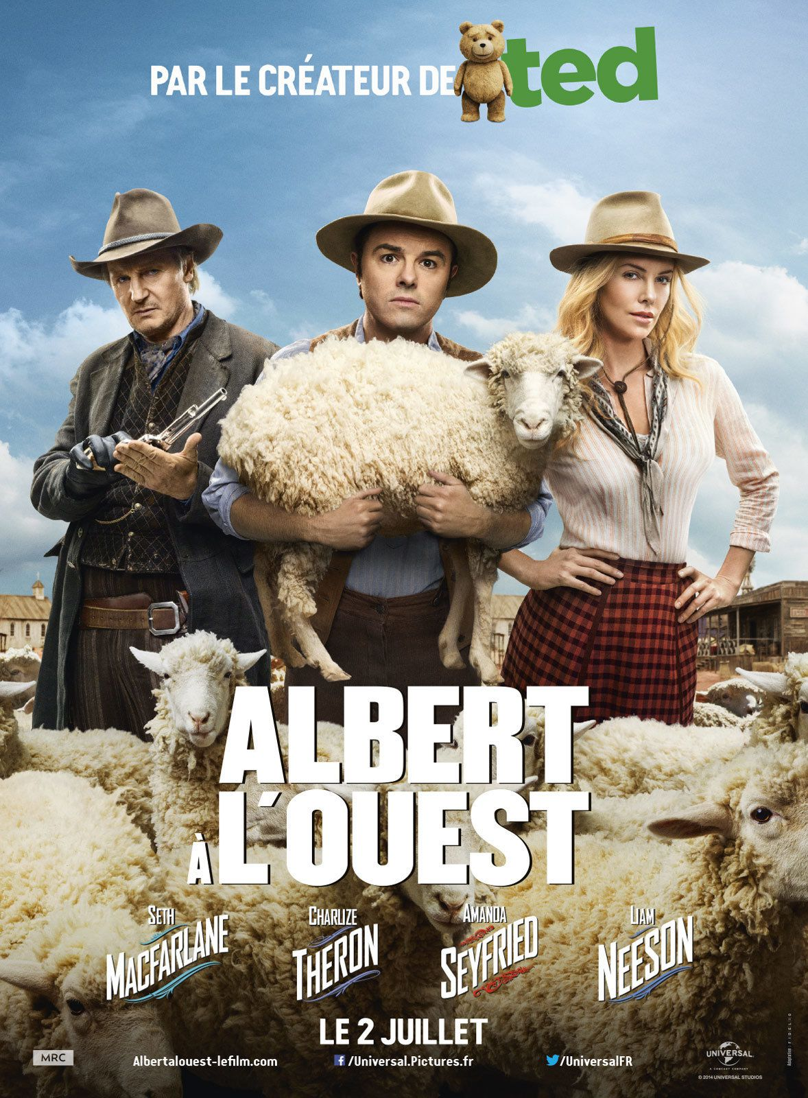 Albert à l'Ouest - Film (2014)