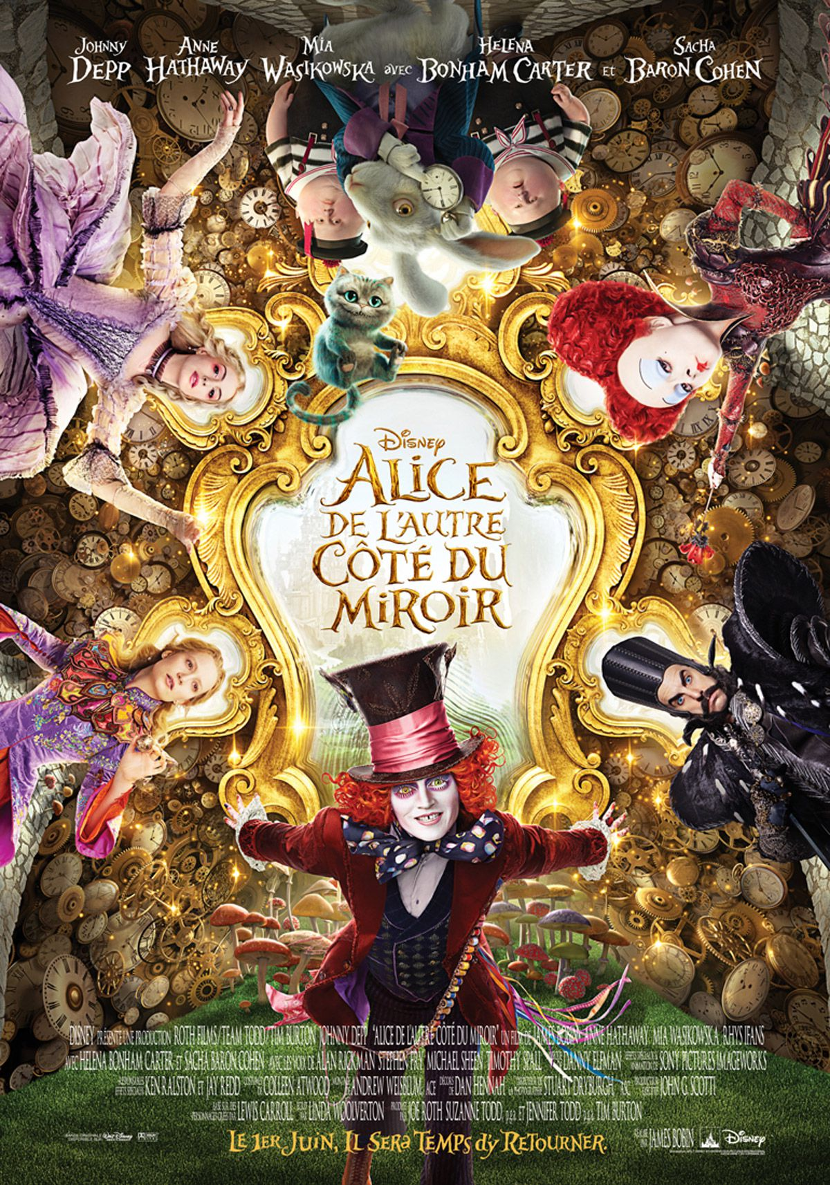 Alice de l'autre côté du miroir - Film (2016)