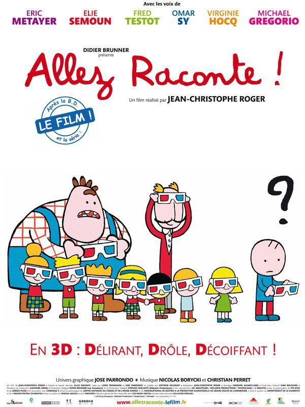 Allez raconte ! - Long-métrage d'animation (2010)