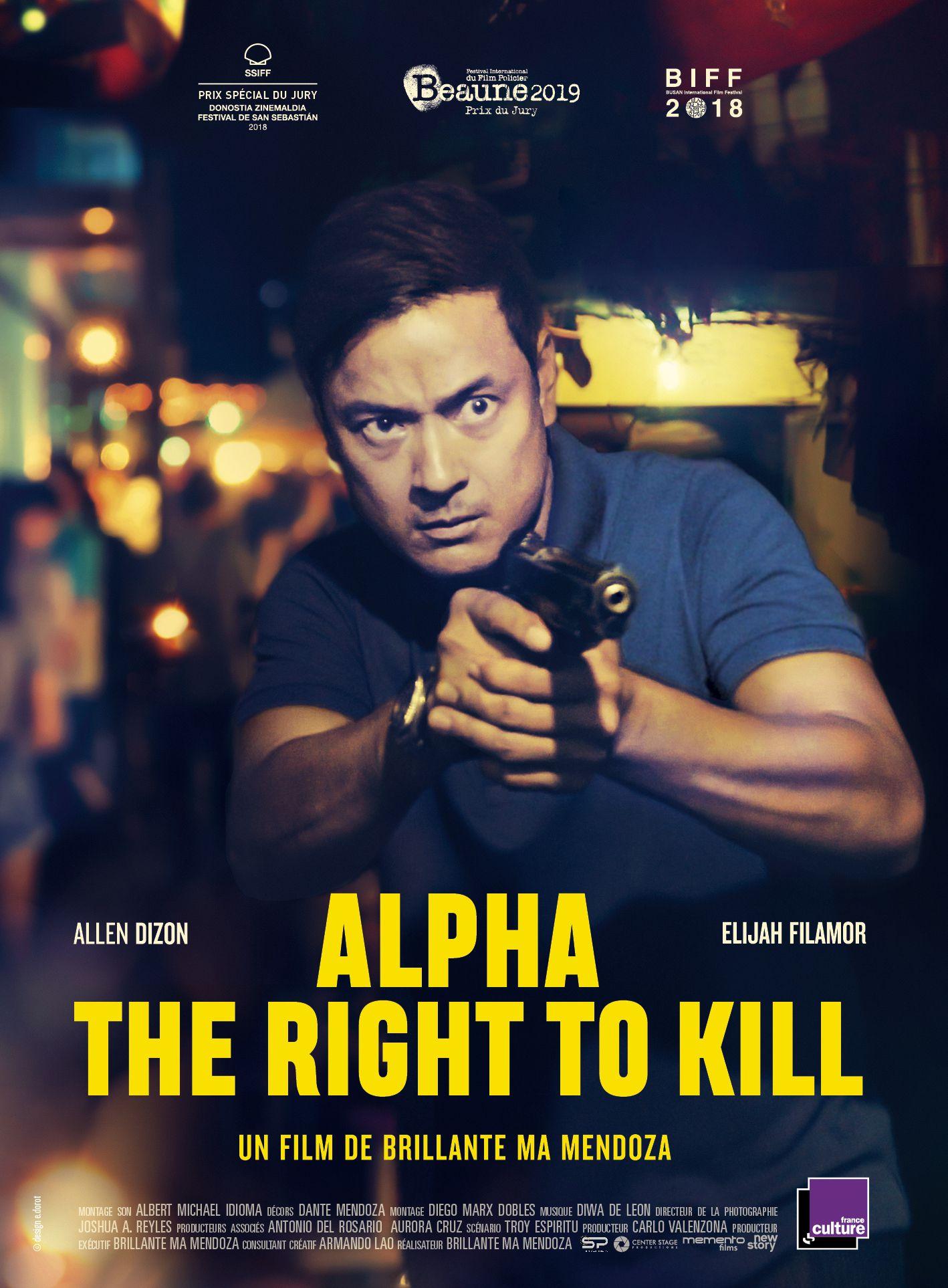 Alpha - The Right to Kill - Film (2019)