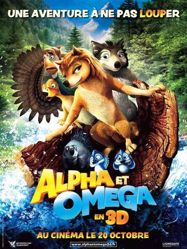 Alpha et Omega - Long-métrage d'animation (2010)