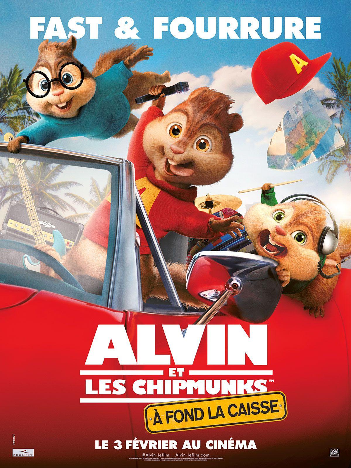 Alvin et les Chipmunks : À fond la caisse - Film (2015)