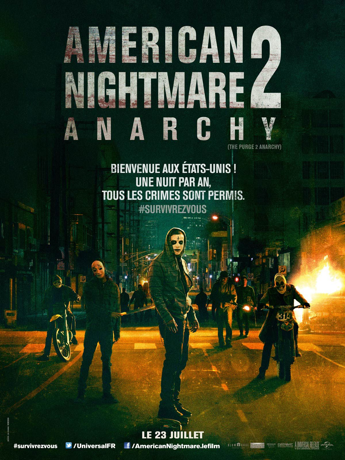 American Nightmare 2 : Anarchy - Film (2014)