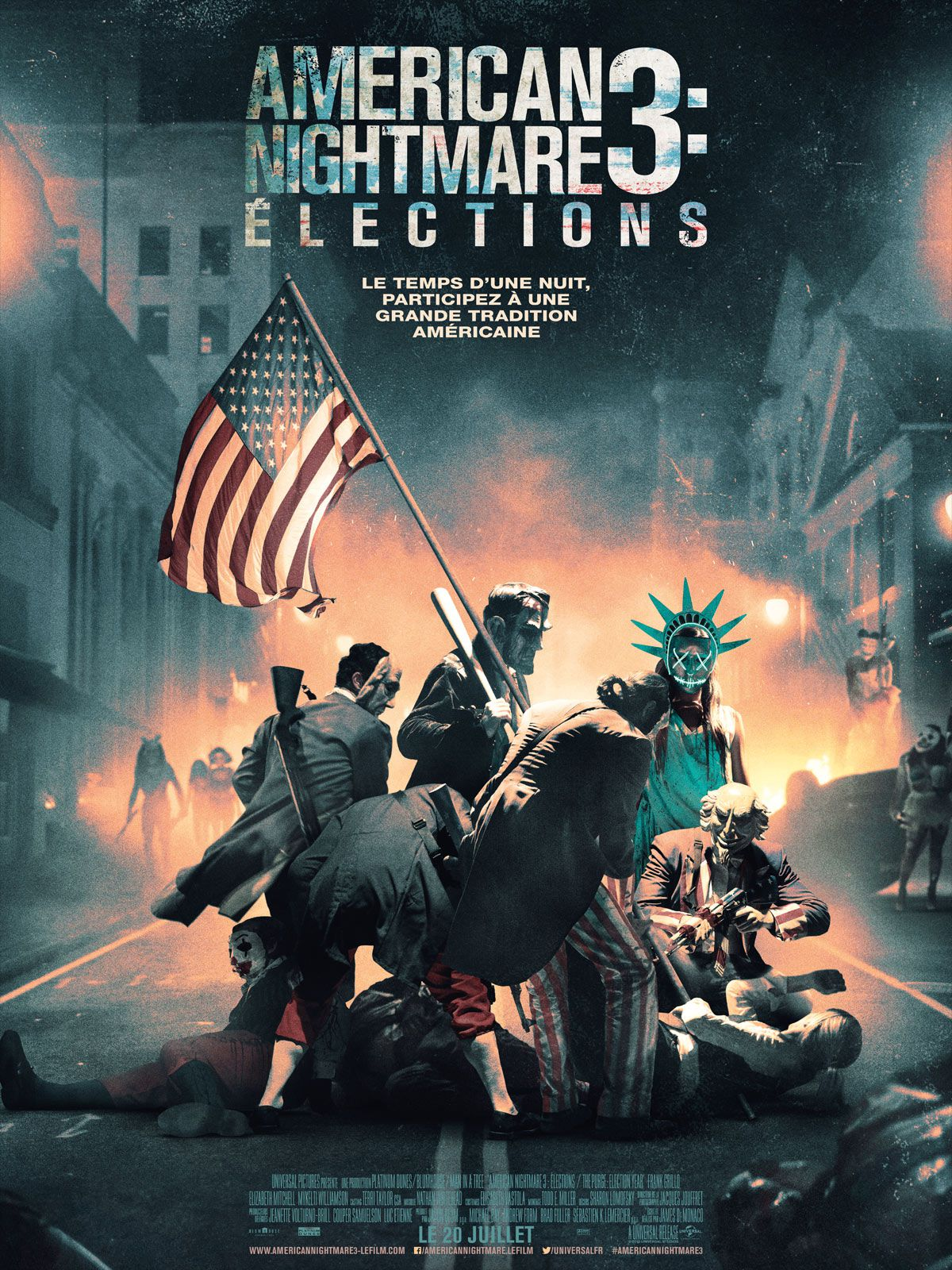 American Nightmare 3 : Élections - Film (2016)