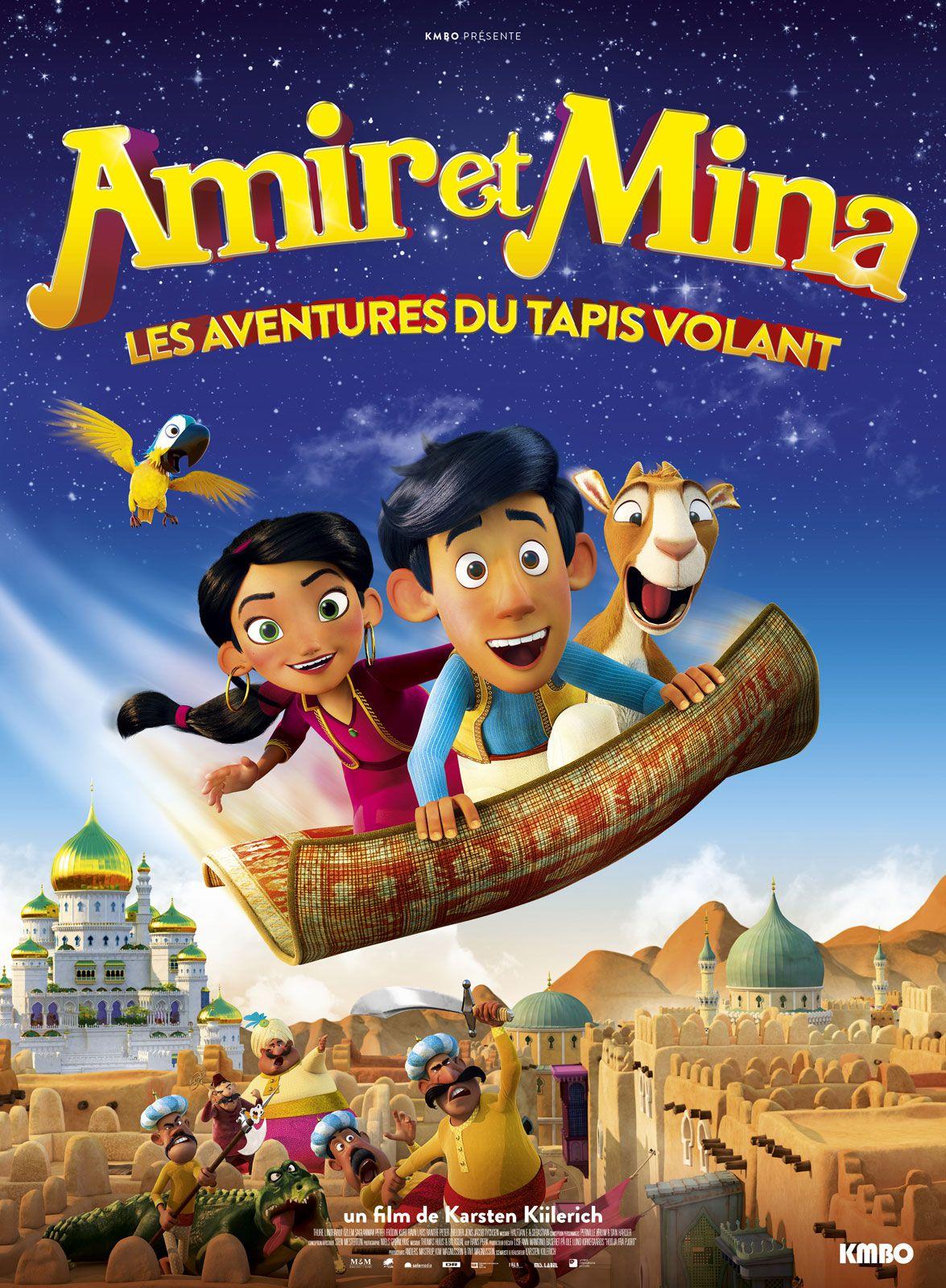 Amir et Mina : Les aventures du tapis volant - Long-métrage d'animation (2019)