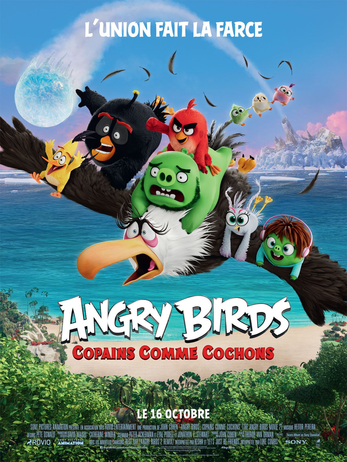Angry Birds : Copains comme cochons - Long-métrage d'animation (2019)
