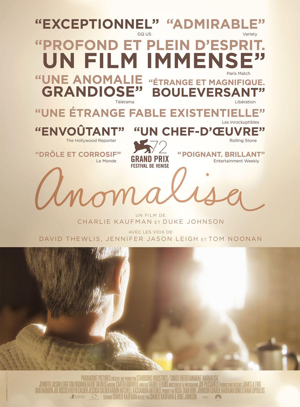 Anomalisa - Long-métrage d'animation (2016)