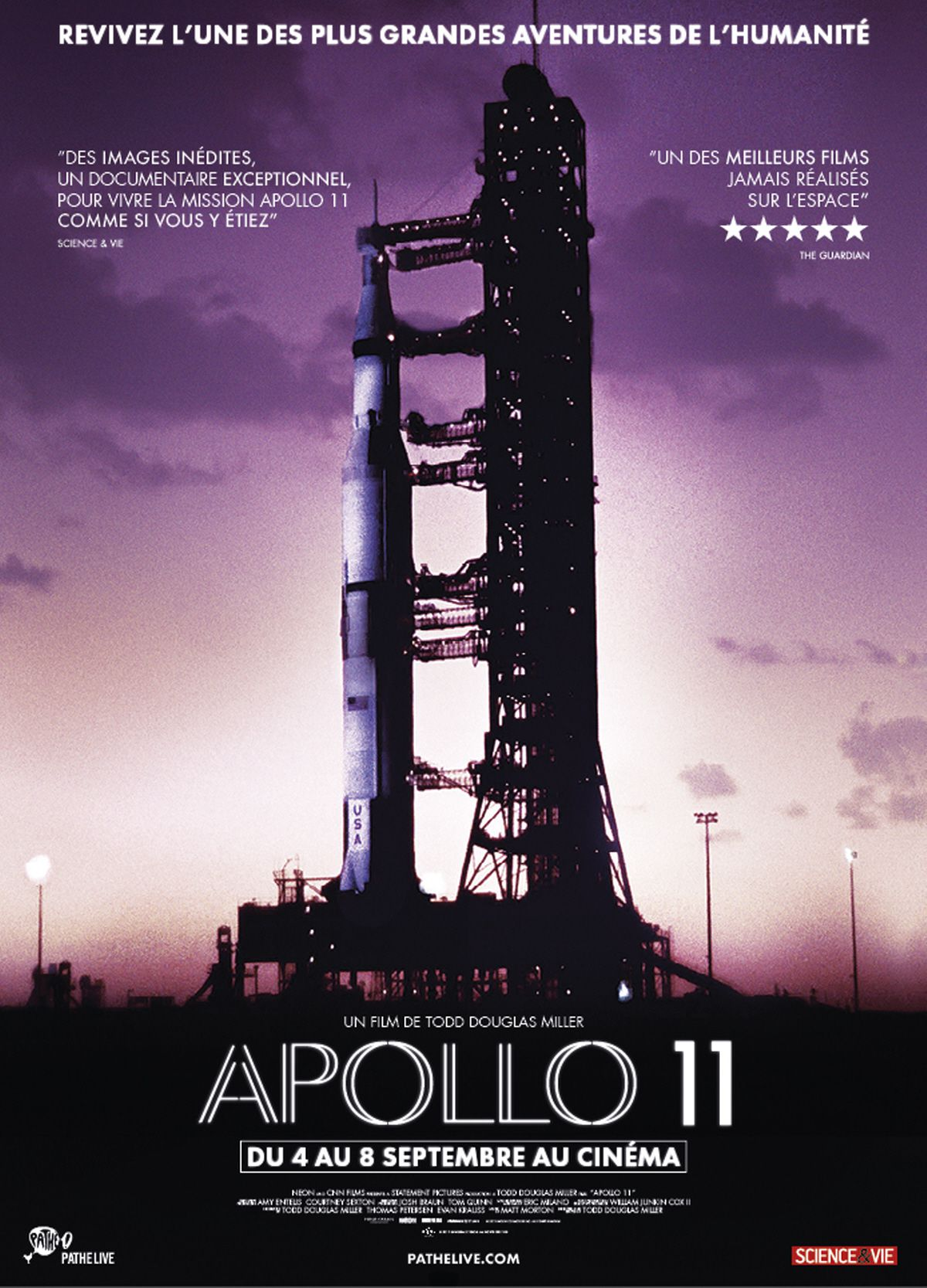 Apollo 11 - Documentaire (2019)