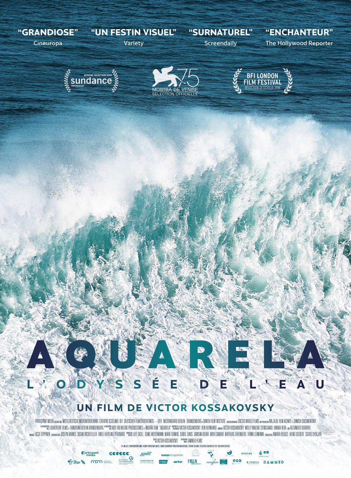 Aquarela - L'Odyssée de l'eau - Documentaire (2018)