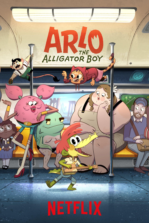 Arlo, le garçon alligator - Long-métrage d'animation (2021)