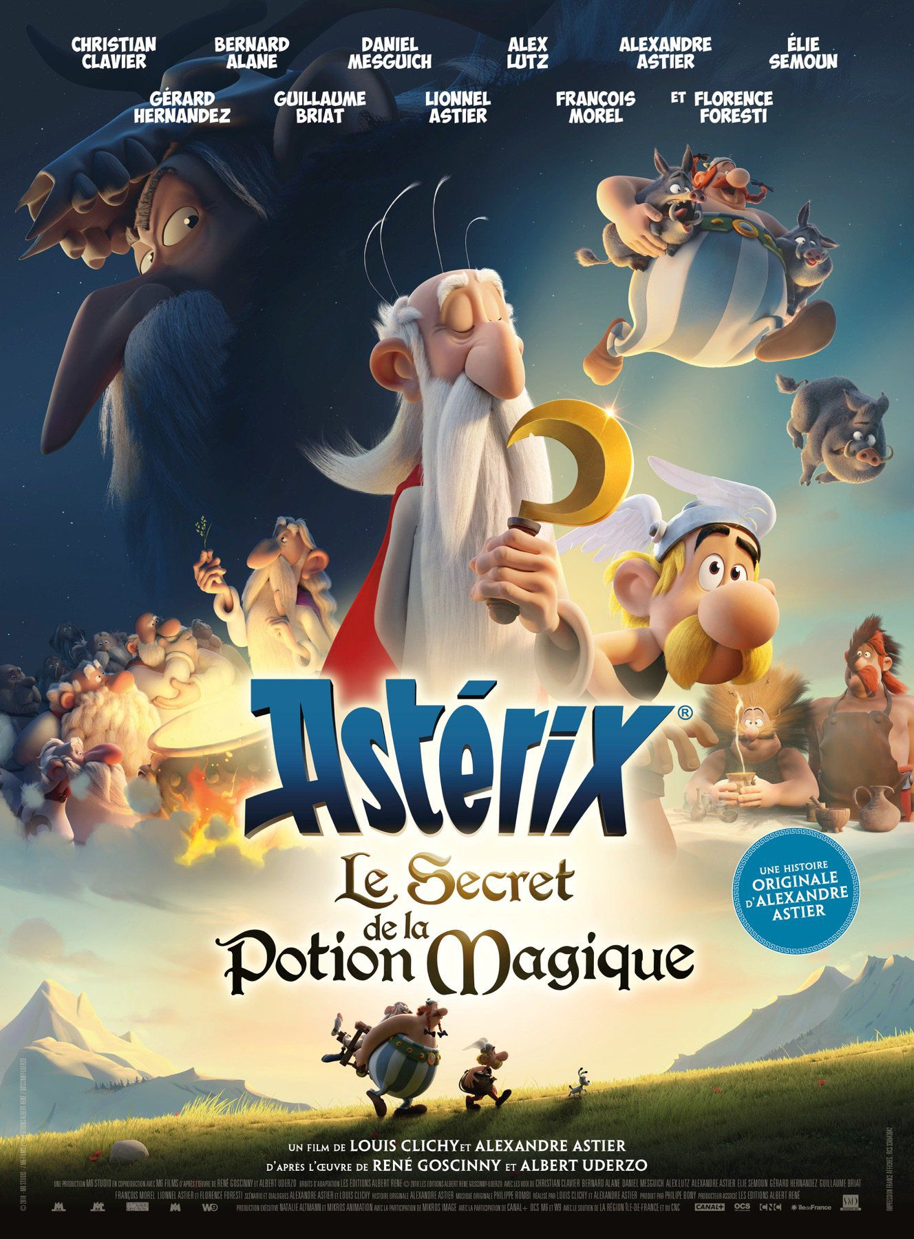 Astérix : Le Secret de la potion magique - Long-métrage d'animation (2018)