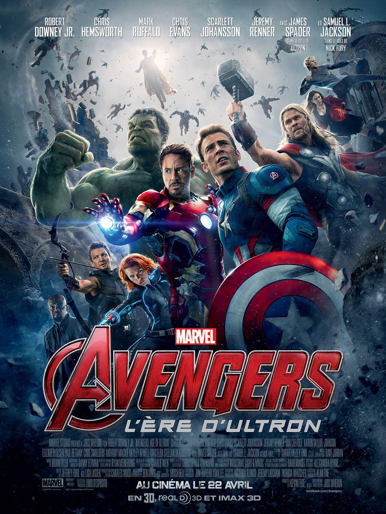 Avengers : L'Ère d'Ultron - Film (2015)
