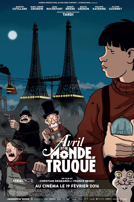Avril et le Monde truqué - Long-métrage d'animation (2015)