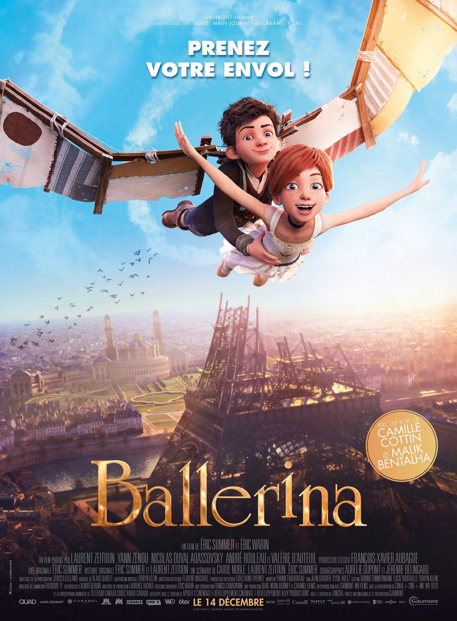 Ballerina - Long-métrage d'animation (2016)