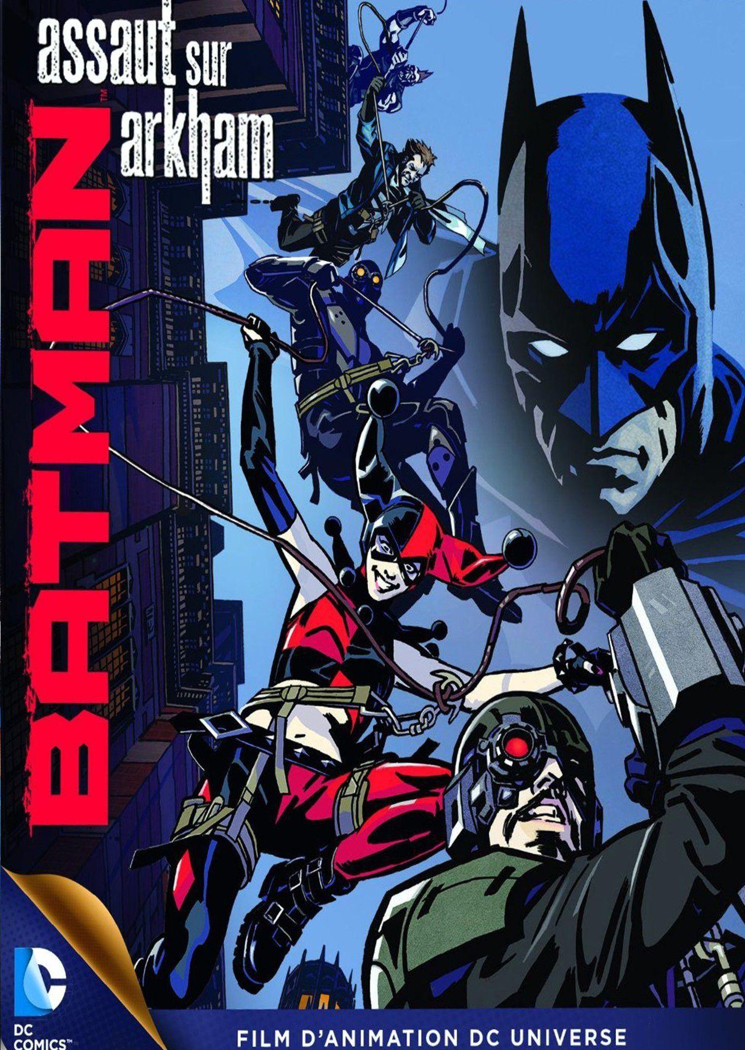 Batman : Assaut sur Arkham - Long-métrage d'animation (2014)