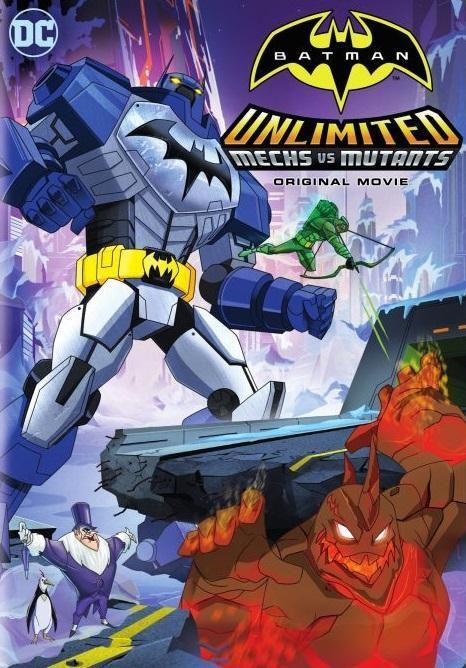 Batman Unlimited : Machines vs. Mutants - Long-métrage d'animation (2016)