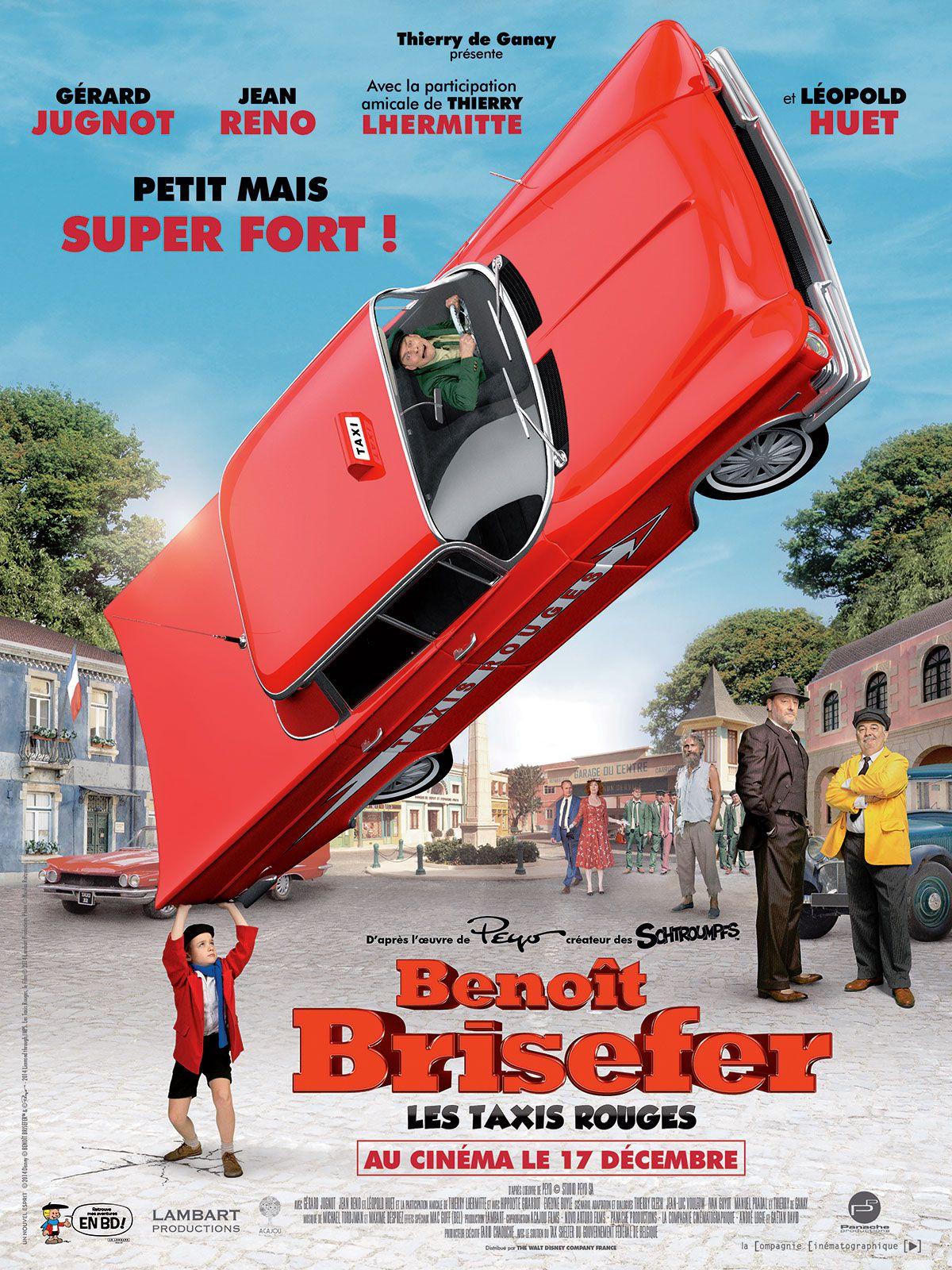 Benoît Brisefer : Les Taxis rouges - Film (2014)