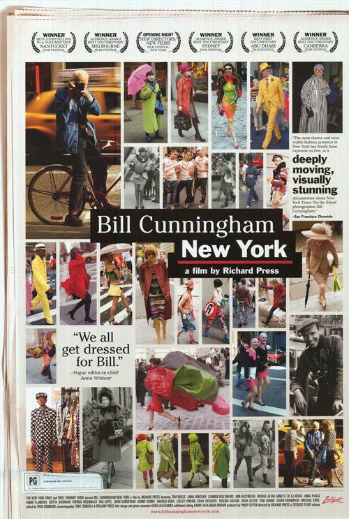 Bill Cunningham New York - Documentaire (2011)