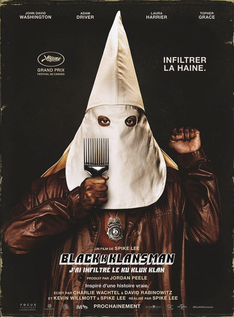 BlacKkKlansman - J'ai infiltré le Ku Klux Klan - Film (2018)