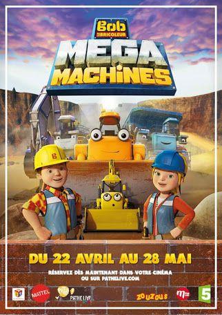 Bob le bricoleur : Megamachines - Le Film - Long-métrage d'animation (2017)