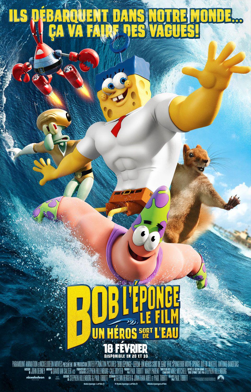 Bob l'éponge, le film : Un héros sort de l'eau - Long-métrage d'animation (2015)