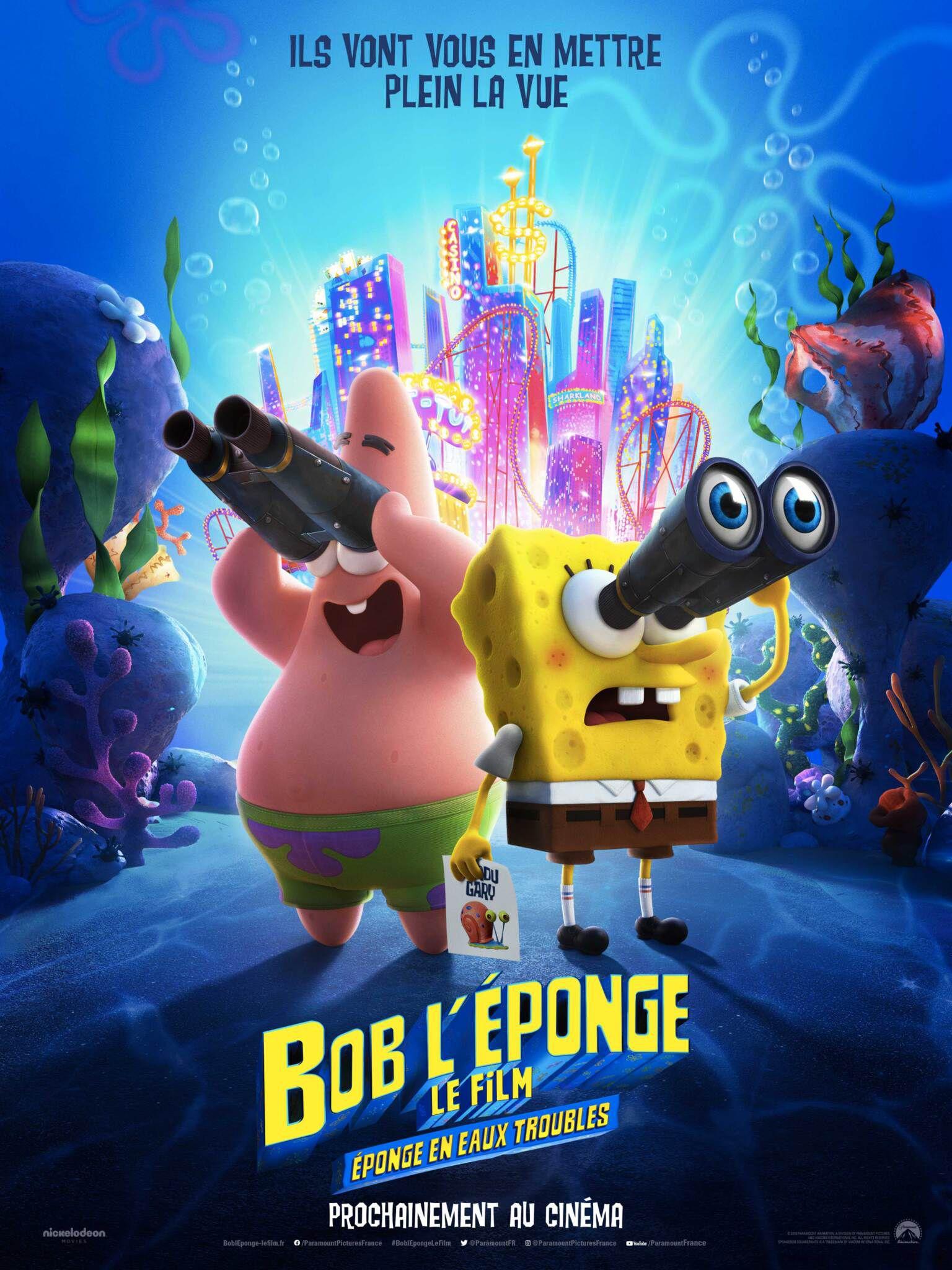 Bob l'éponge, le film : Éponge en eaux troubles - Long-métrage d'animation (2020)