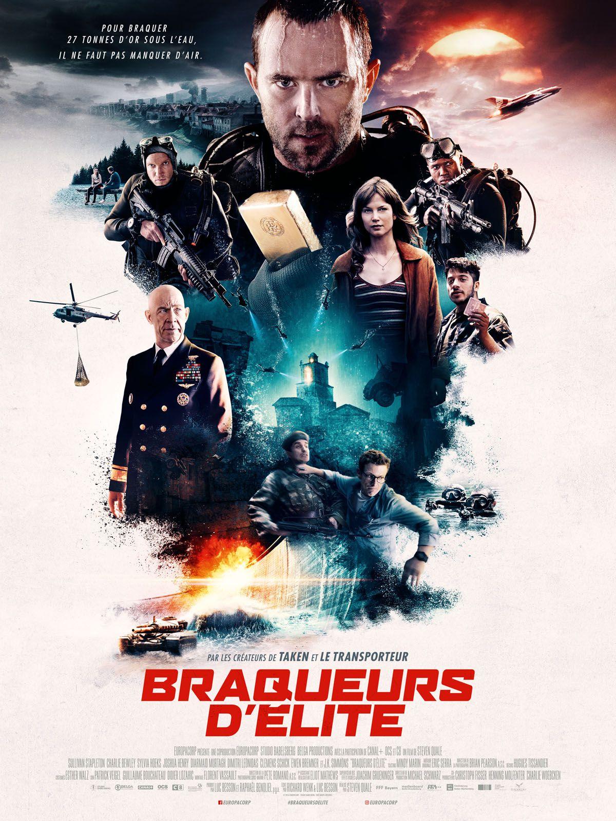 Braqueurs d'élite - Film (2018)