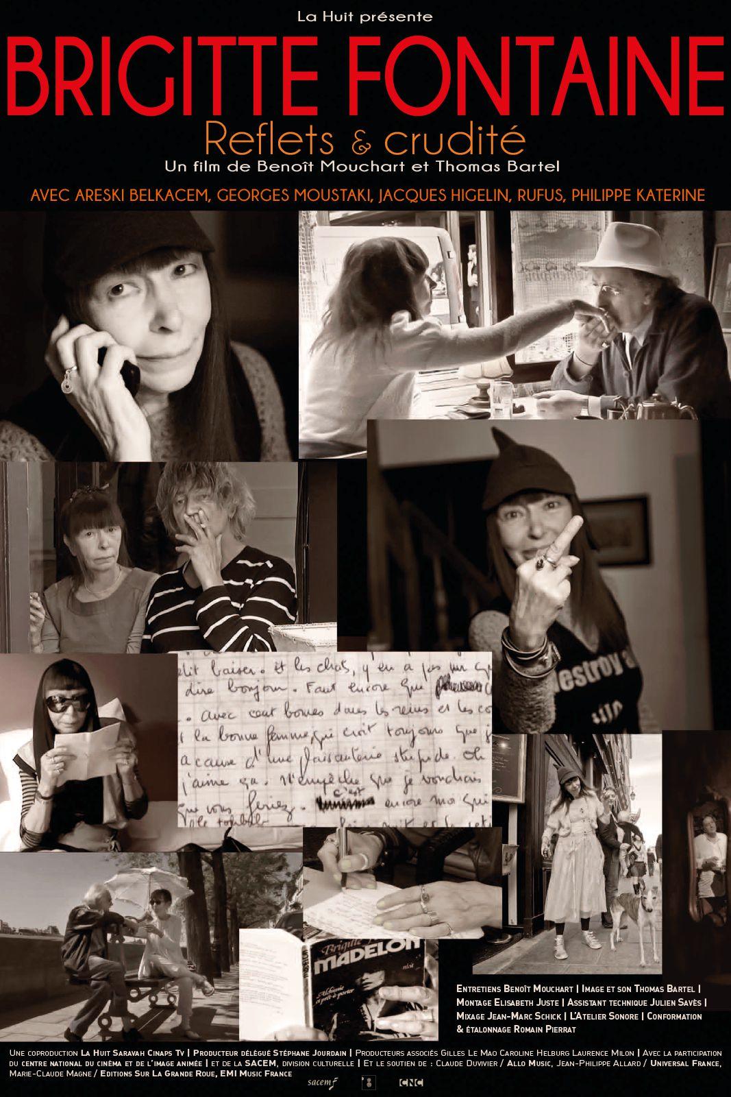 Brigitte Fontaine : Reflets et Crudité - Documentaire (2013)