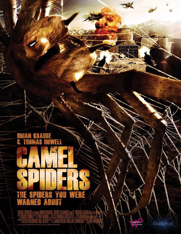 Camel Spiders - Film (2011)