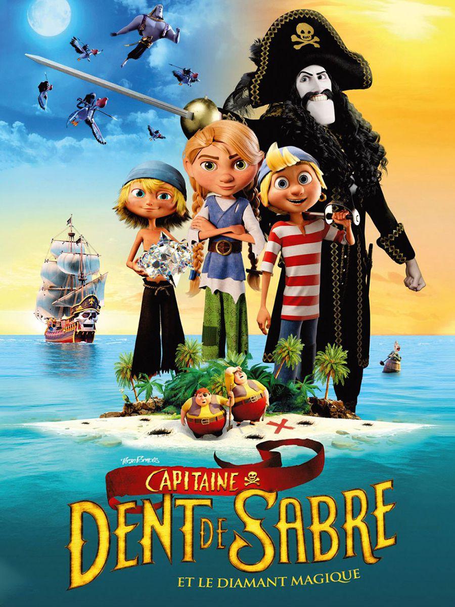 Capitaine Dent de Sabre et le diamant magique - Long-métrage d'animation (2021)