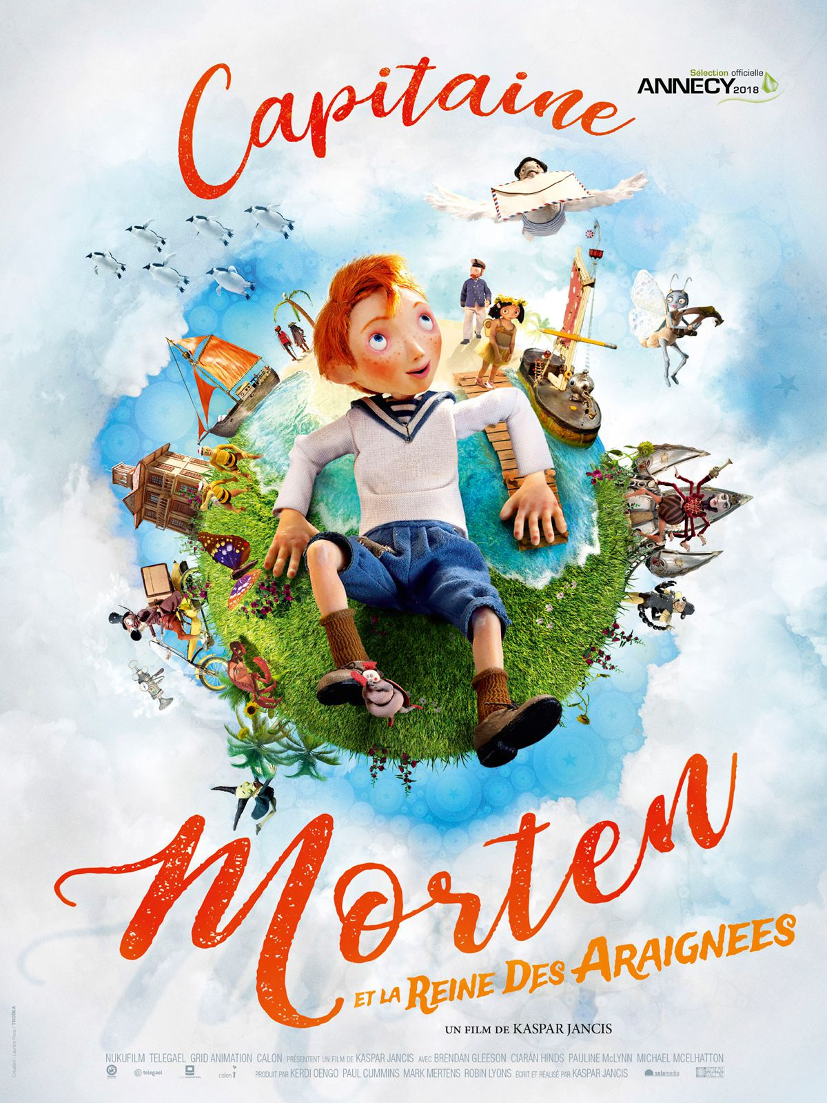 Capitaine Morten et la reine des araignées - Long-métrage d'animation (2018)