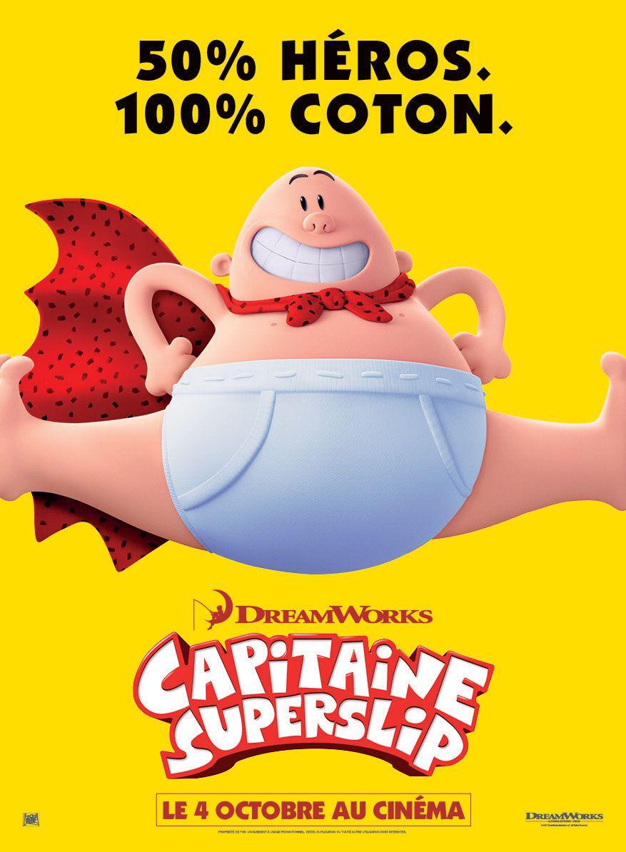 Capitaine Superslip - Long-métrage d'animation (2017)