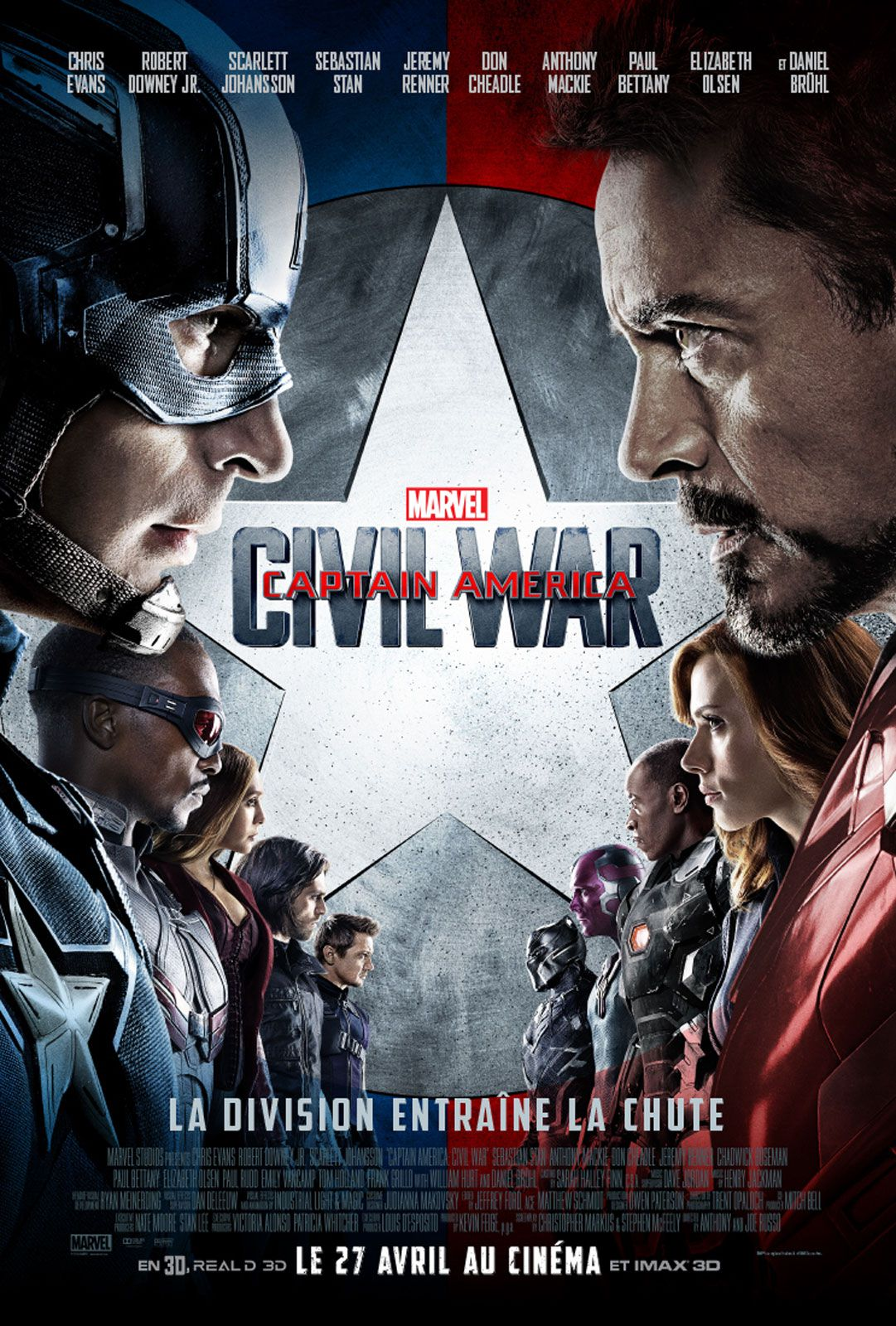 Captain America : Civil War - Film (2016)