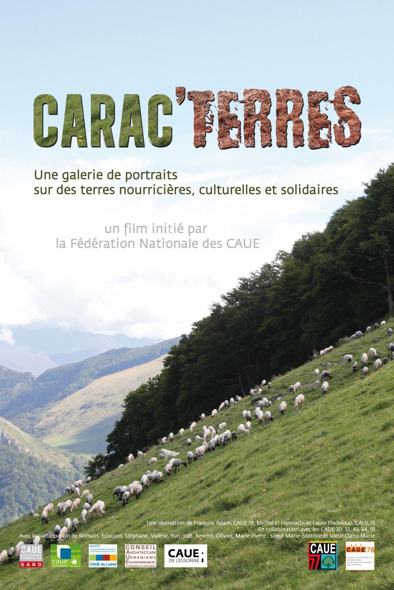 Carac'Terres - Documentaire (2015)