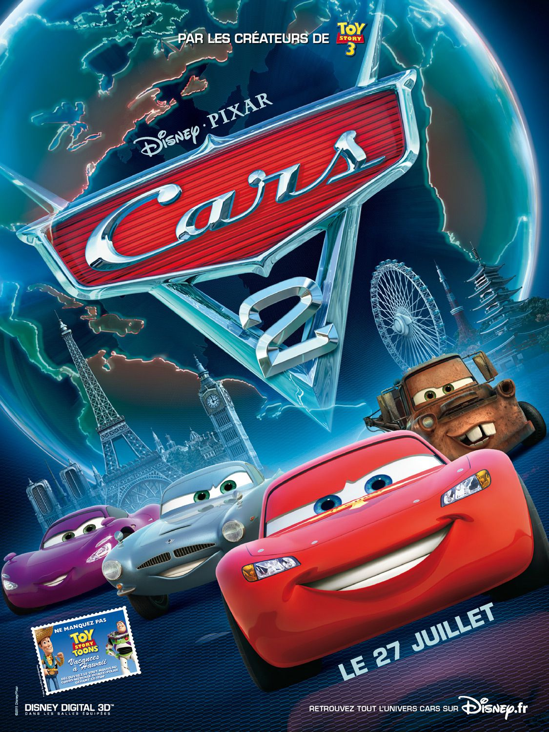 Cars 2 - Long-métrage d'animation (2011)