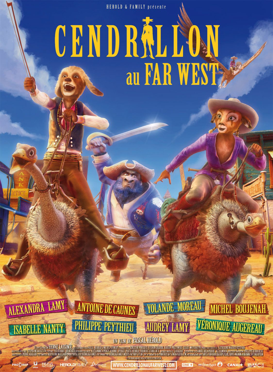 Cendrillon au Far West - Long-métrage d'animation (2012)