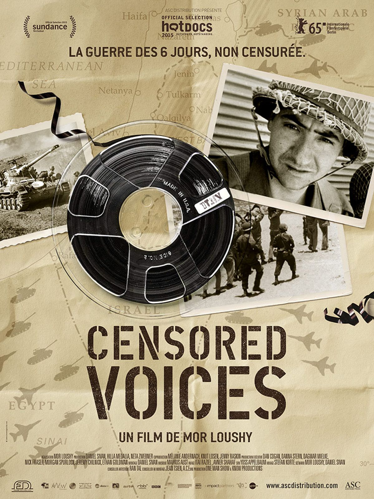 Censored Voices - Documentaire (2015)